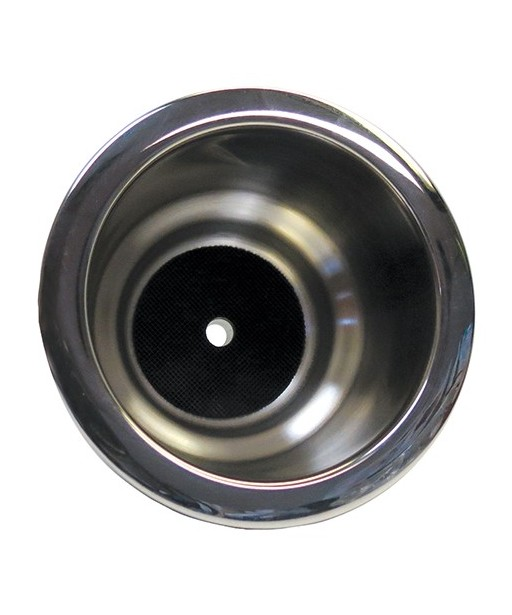ITC Ring Mount Stepped Stainless Steel Drink Holder