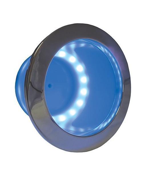 ITC LED Lit Stainless Steel Rim Drink Holder