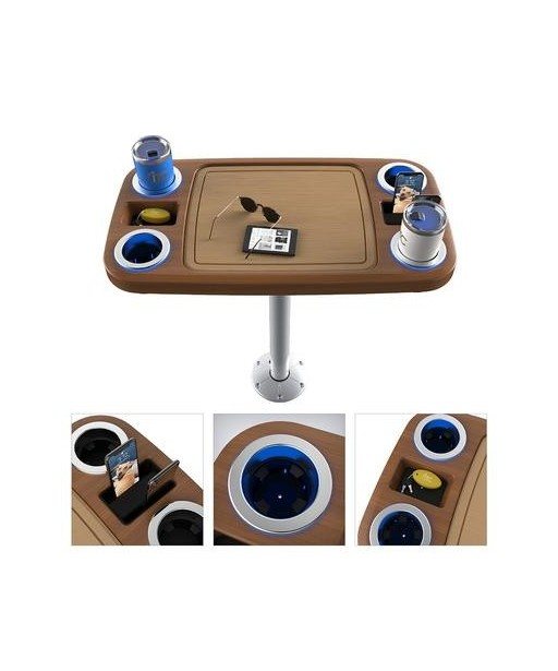 ITC Battery powered LED table system
